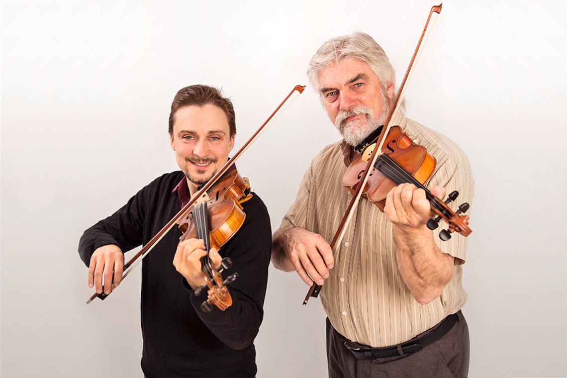 Twin Fiddles: Gordon Stobbe & JJ Guy